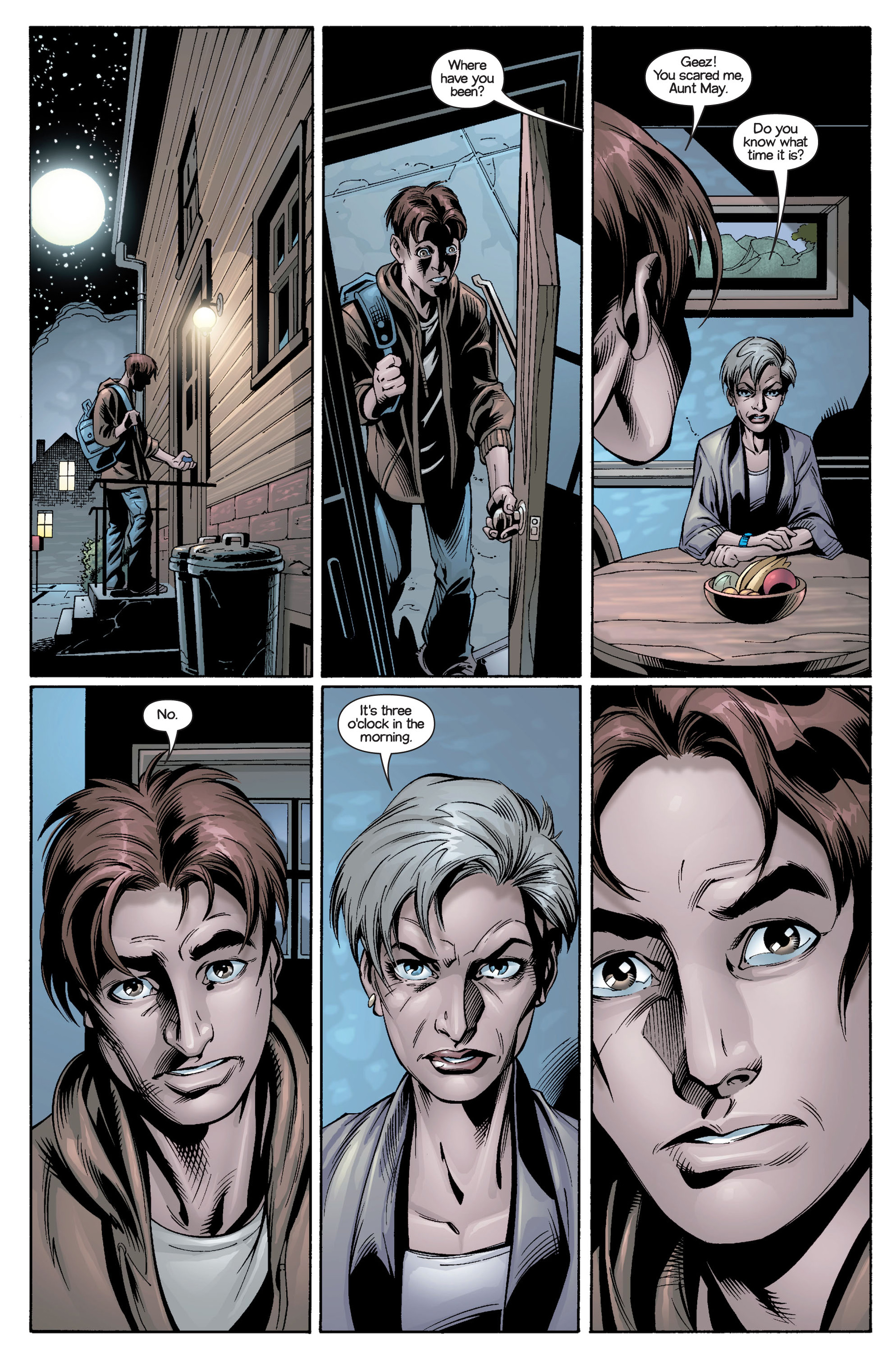 Read online Ultimate Spider-Man (2000) comic -  Issue #21 - 12