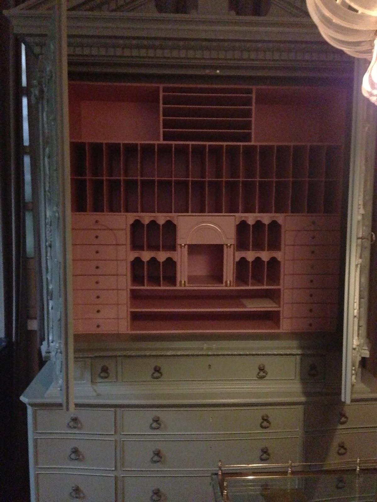 my best friend craig two toned secretary armoire. Black Bedroom Furniture Sets. Home Design Ideas
