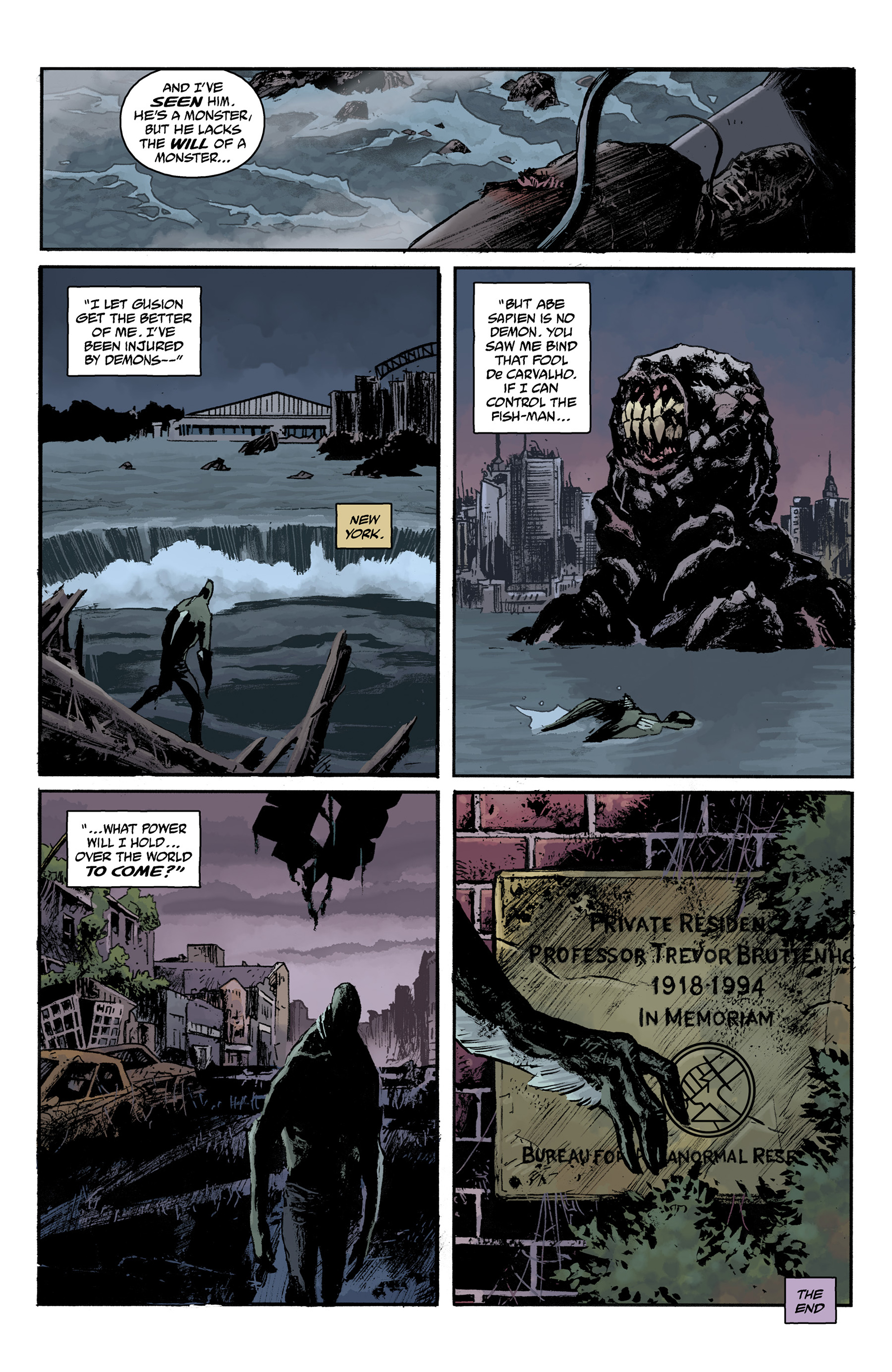 Read online Abe Sapien comic -  Issue #31 - 24