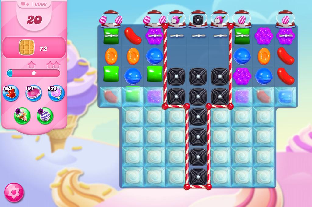 Candy Crush Saga level 6038