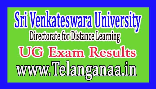 SVU DDE UG 3rd Year Exam Results Announced 2016