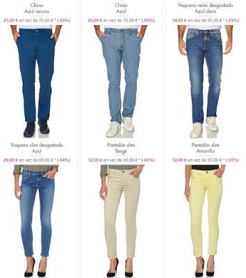 pantalones baratos