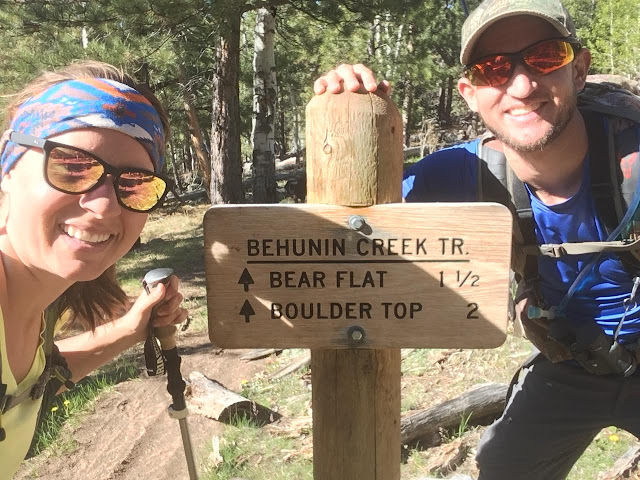 Hiking the Behunin Trail & Meeks Lake Loop, Boulder Mountain
