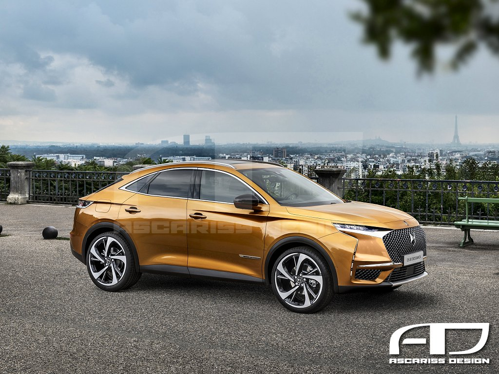 DS8 Crossback Coupe SUV