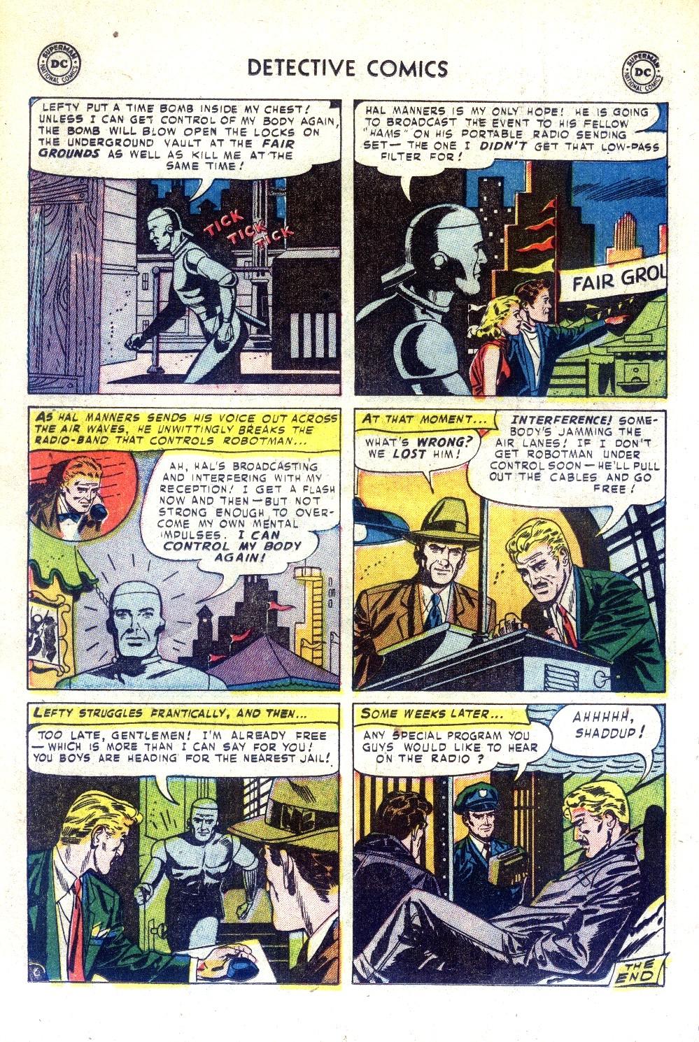 Read online Detective Comics (1937) comic -  Issue #188 - 22