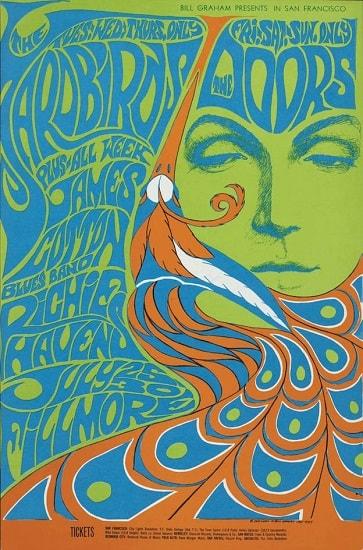 Berbagai Macam Aliran Gaya Style Desain Grafis/Graphic Design Style - Psychedelic Style