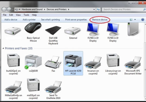 How to Remove a Printer in Windows 7