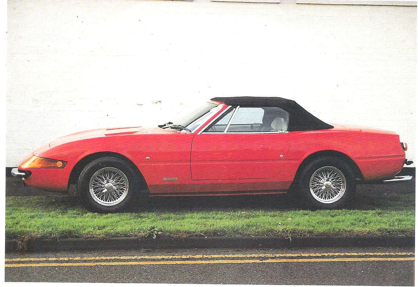 RS Daytona Spyder, by Robin Hood Engineering, based on Triumph TR7