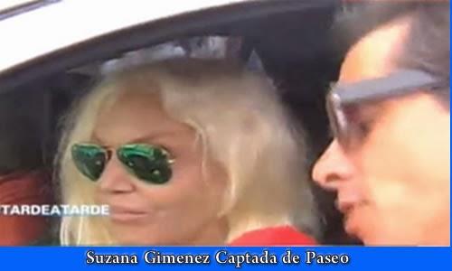 Susana Gimenez disfruta de Punta Del Este