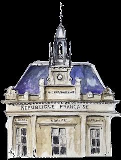 Place Gambetta,Parigi