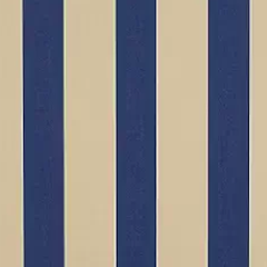 Sunbrella Med/Canvas Block Stripe