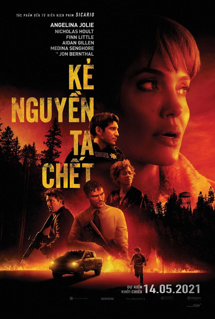 Kẻ Nguyền Ta Chết - Those Who Wish Me Dead (2021) (2021)