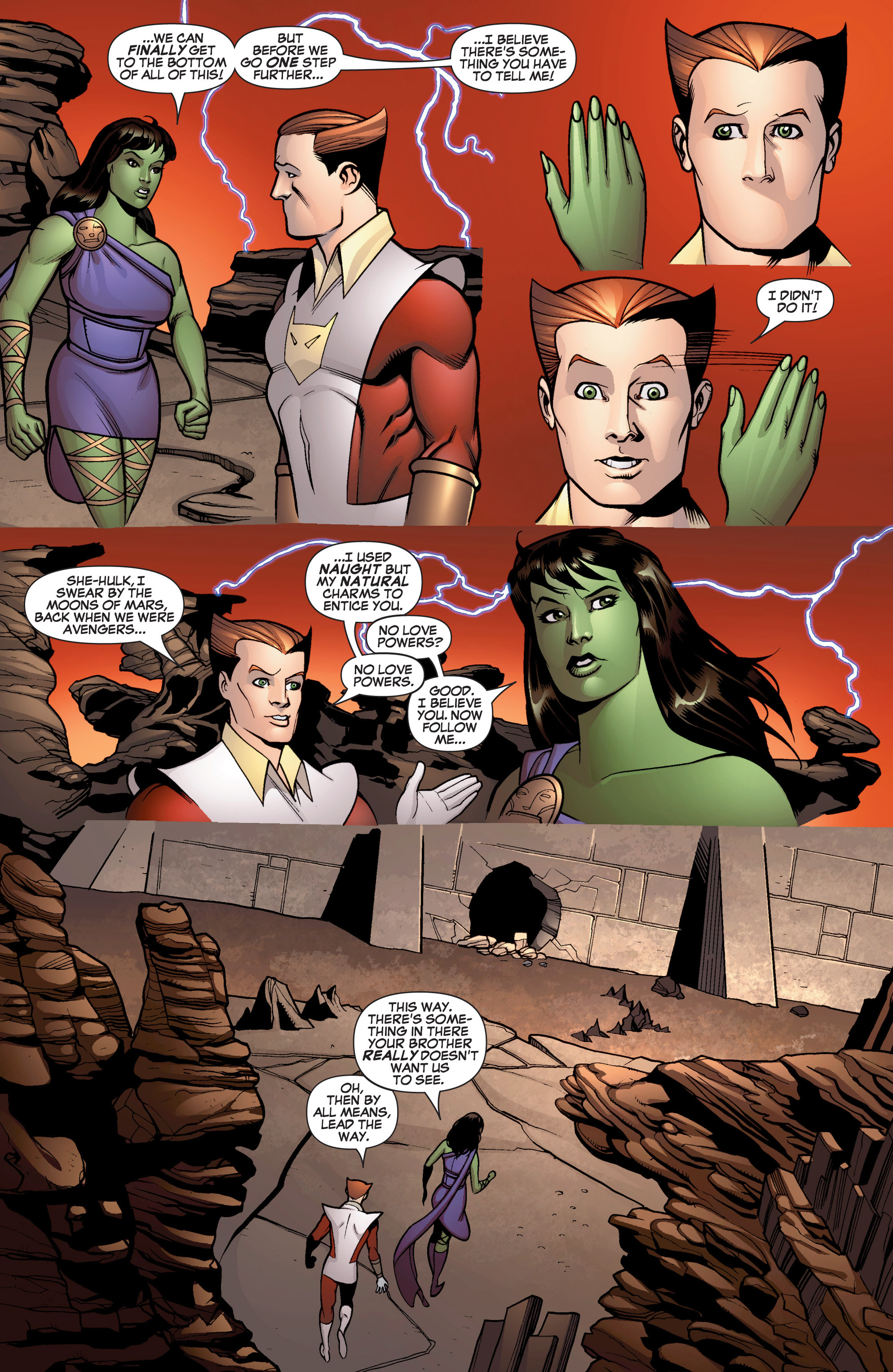 Read online She-Hulk (2005) comic -  Issue #13 - 17