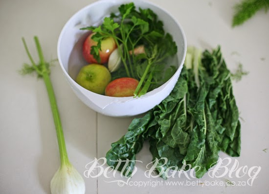 prep your greens, wash your veggies, juice more, betty bake