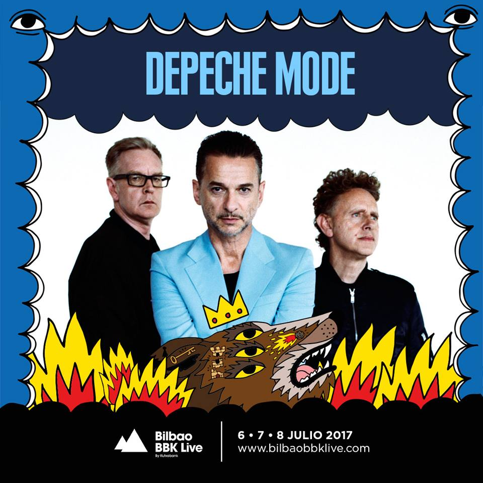 After musiic depeche mode primer artista del bilbao bbk - Depeche mode in your room live 2017 ...