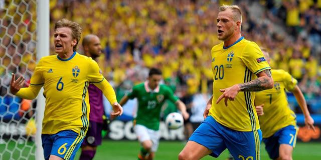 Swedia vs Belgia