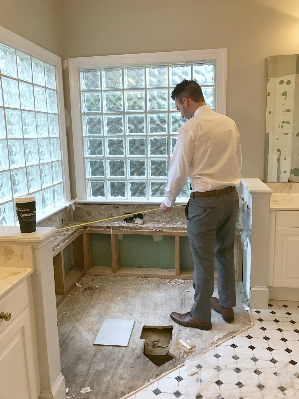 Master Bathroom Renovation | The Tub - Carolina Charm