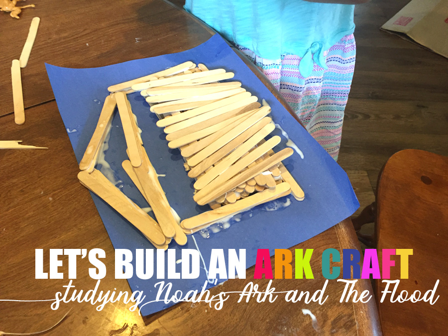 Homeschool a simple craft for a noah 39 s ark lesson the for The ark of craft