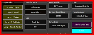 APLIKASI DATABASE SEKOLAH - SOFTWARE DATABASE - DOWNLOAD FILE