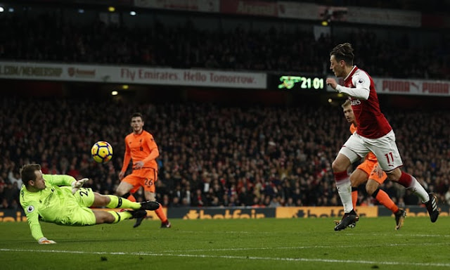 Arsenal 3 Liverpool 3