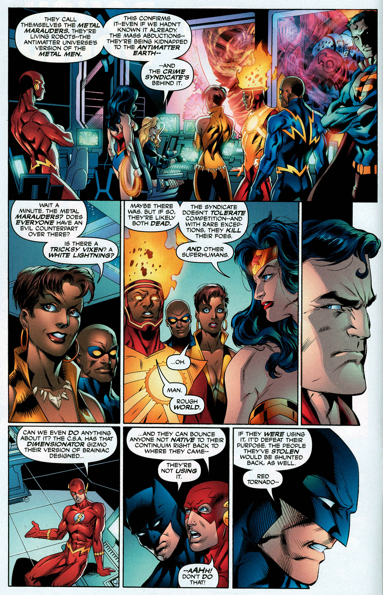 Read online Trinity (2008) comic -  Issue #10 - 6
