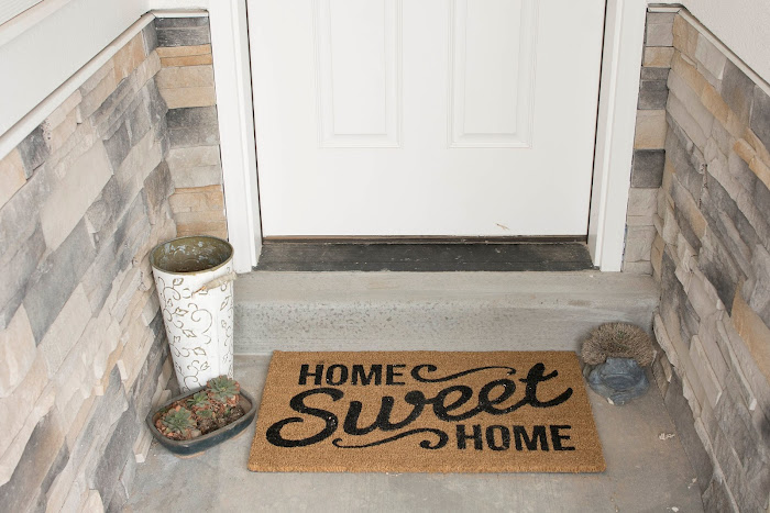 Inspirational Definitely need to give my porch some TLC waiting for the weather to get nice Rug from Target