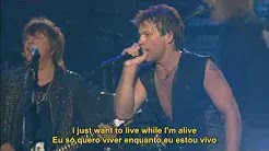 Bon Jovi - It's My Life  (Live) Legendado em PT/ENG - É a Minha Vida - Show Live At Madison Square Garden 2008