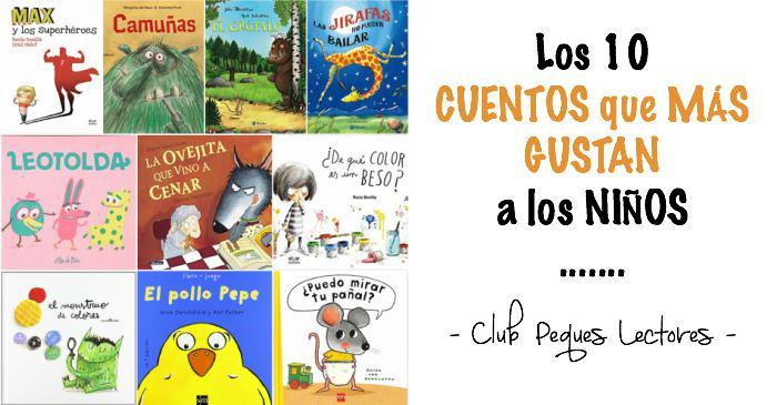 mejores cuentos infantiles, libros preferidos niños, los que más gustan