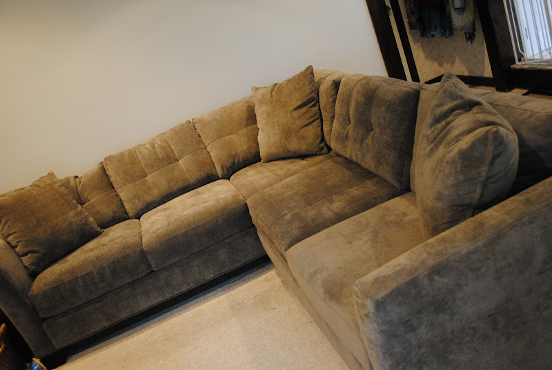 Our amazing, new sectional