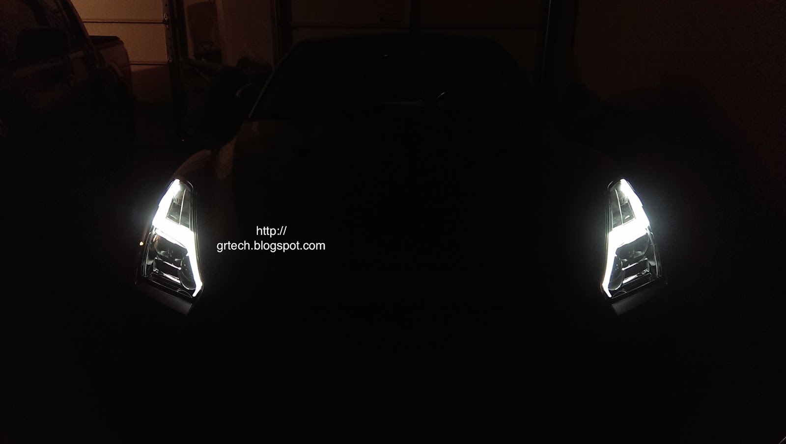 Nissan GT-R (R35) Technical DIY Blog: Headlights Conversion to 2015 LED  Headlights with Manual ON/OFF for Lightning Bolt