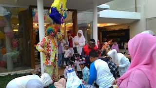 Kak Tony Sahabat Dongeng, aksi acara Ulang Tahun Sultan putra Ust Solmed