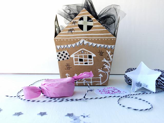 Halloween scatola casa infestata