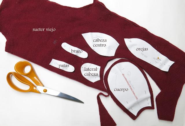 manualidades hechas con ropa usada