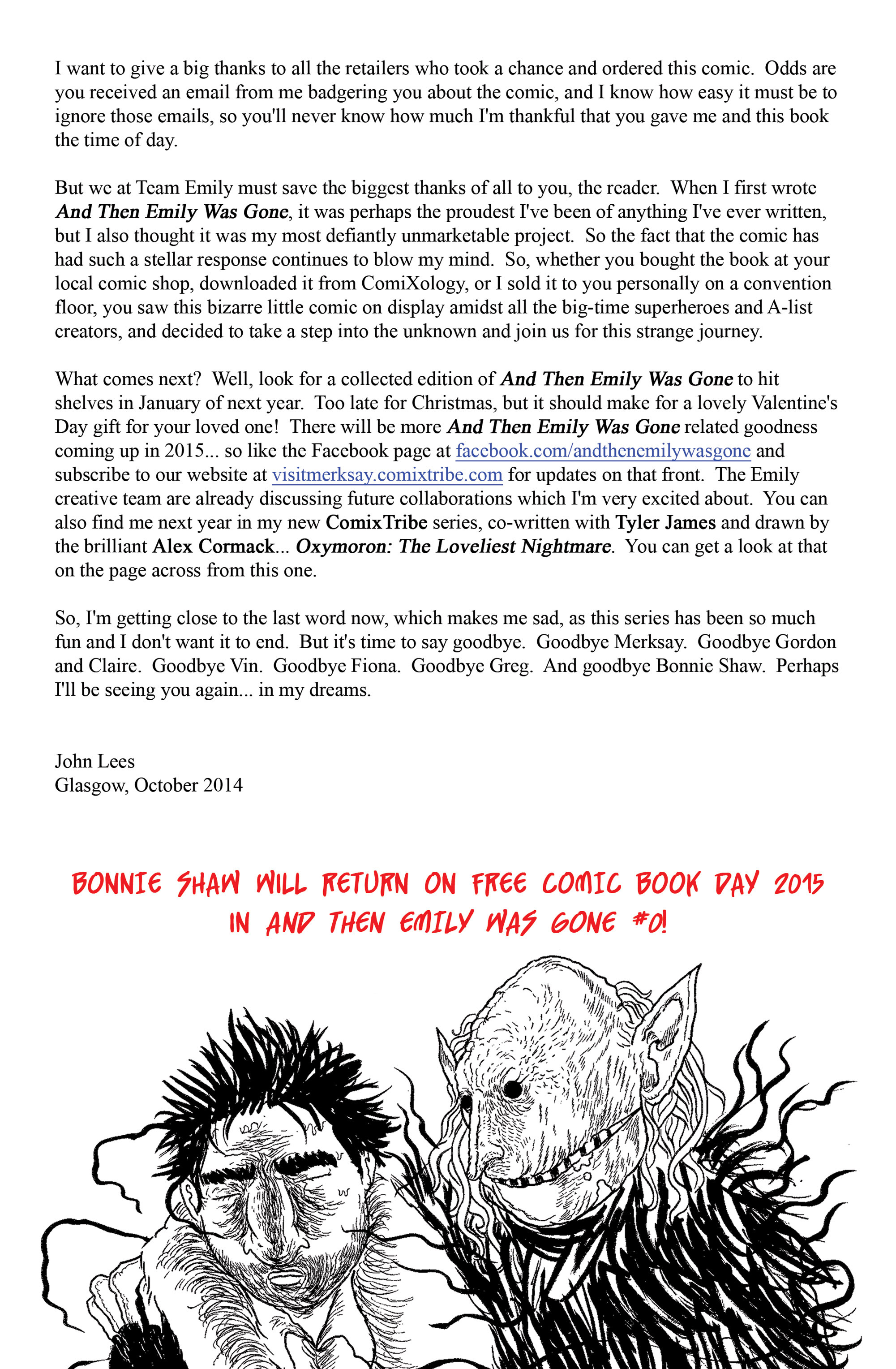 Read online And Then Emily Was Gone comic -  Issue #5 - 26