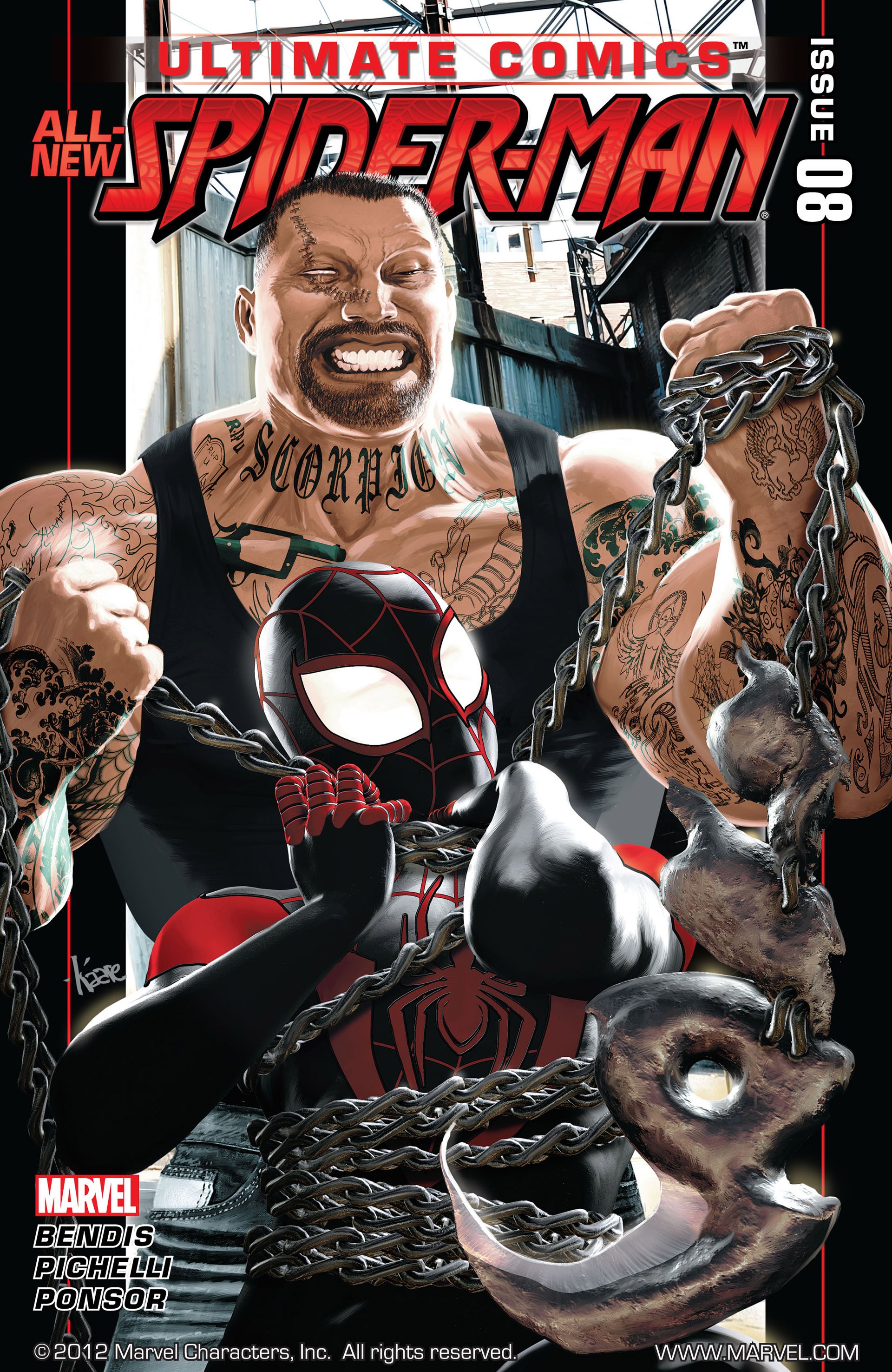 Read online Ultimate Comics Spider-Man (2011) comic -  Issue #8 - 1