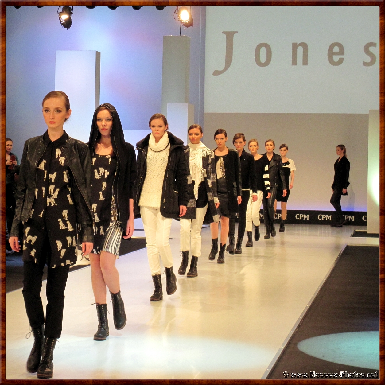 Jones Luxury Clothing at Collection Premiere Moscow (CPM)