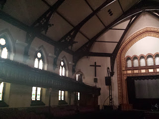 Historic Chicago church near Newberry Library