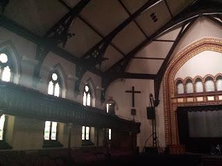 Historic Chicago church near Newberry Library