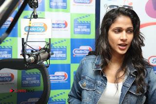Actress Lavanya Tripathi Pictures at Radio City  0105.JPG