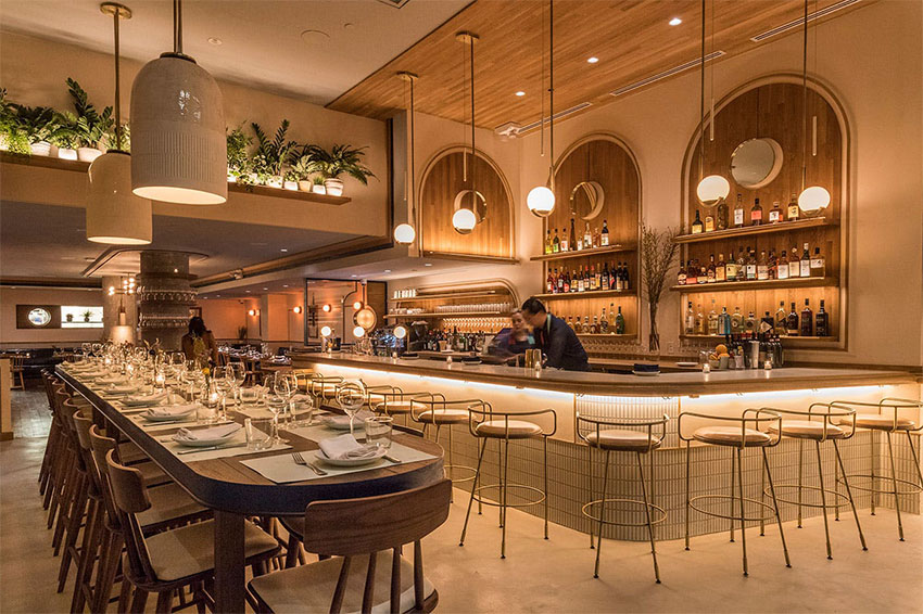 Top restaurant interior decor trends for the year 2019 - 2019 interior design trends ...