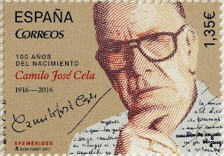 150 AÑOS DEL NACIMIENTO DE CAMILO J. CELA (1916-2016)