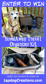 enter to win Solvit HomeAway Travel Organizer Kit