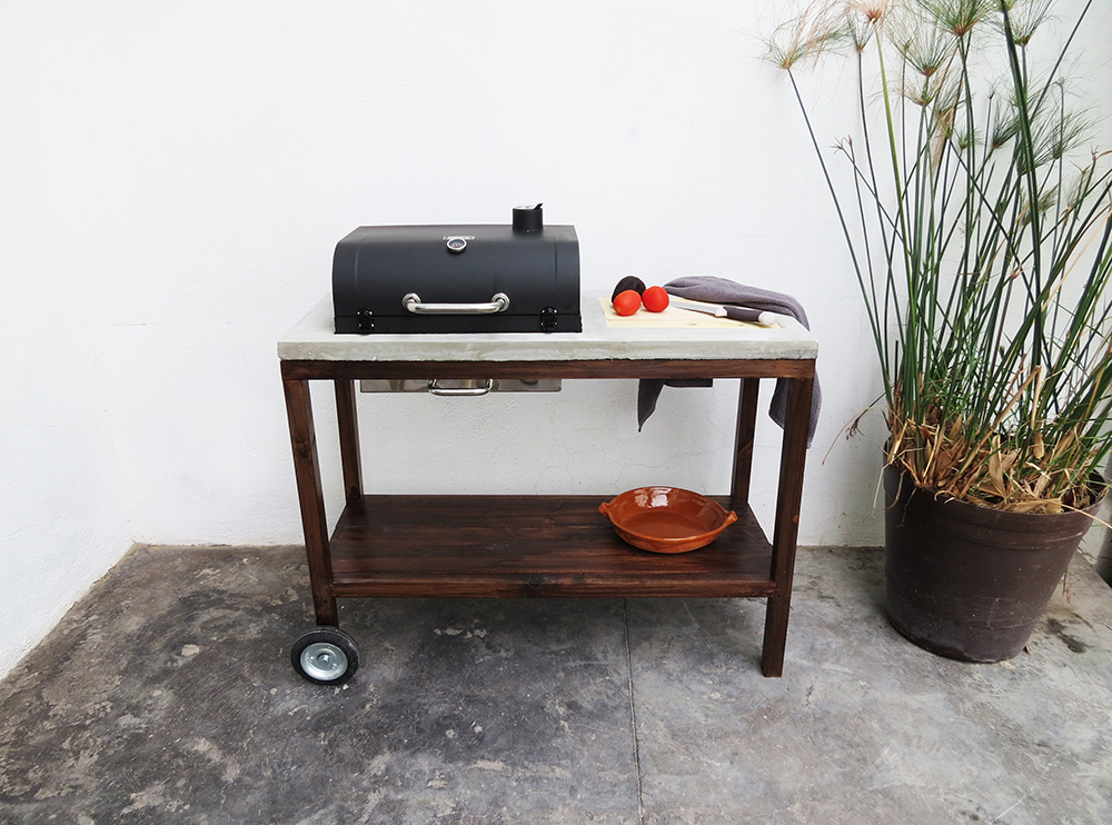 How to build a grill cart