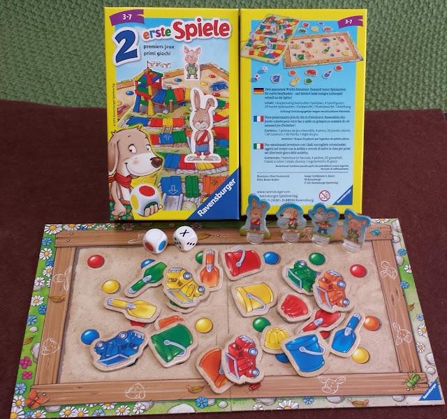 公園ゲーム 2 erste Spiele