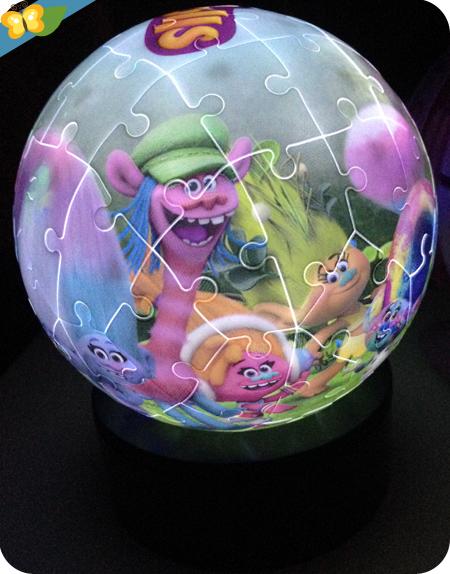 3D puzzle illuminé - Les trolls - Ravensburger