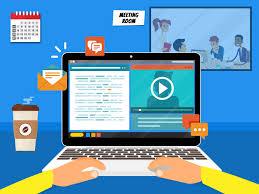 Proses Belajar Kuliah Online