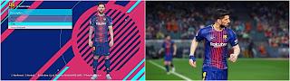PES 2018 La Liga Wet Kits V1 by affan7x