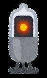 ニキシー管のイラスト(ドット)