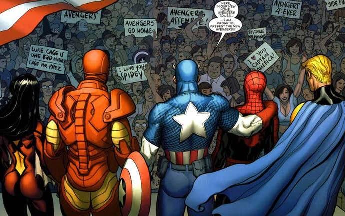 Macam-macam Avengers dari Marvel Comics