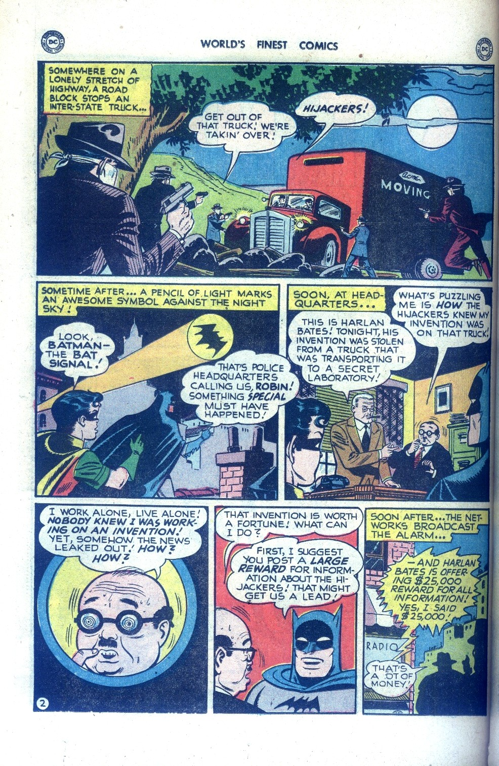 Read online World's Finest Comics comic -  Issue #43 - 62
